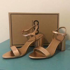 ASOS Hallie Barely There heeled sandals